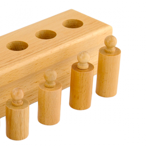 Blocs Des Cylindres montessori