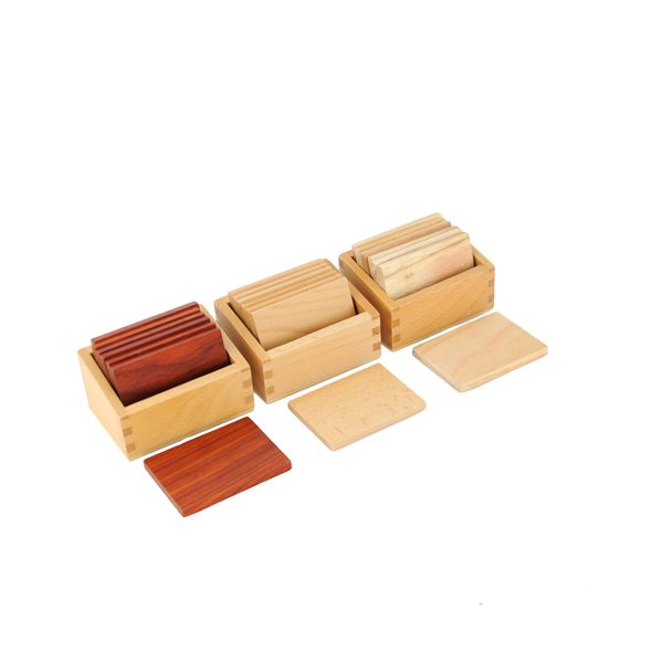 Tablettes barriques montessori