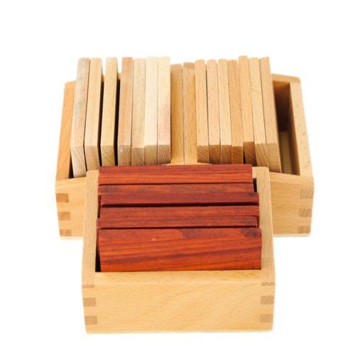 Tablettes barriques montessori