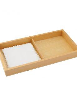 Deuxième boite des tissus couleurs montessori