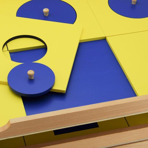 Cabinet De Géométrie montessori