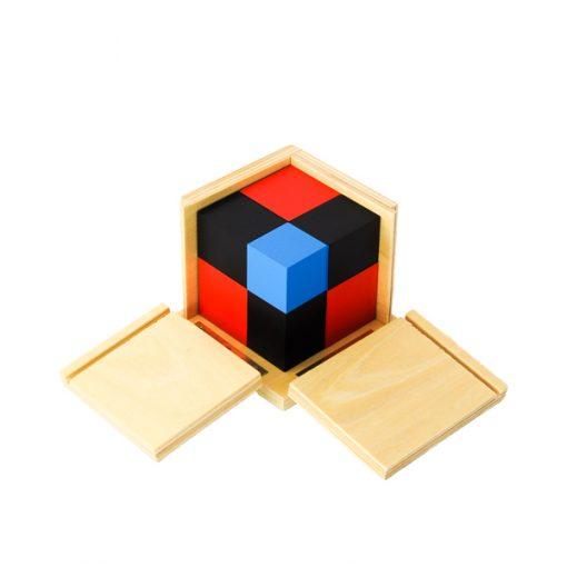 Le Cube Du Binôme montessori