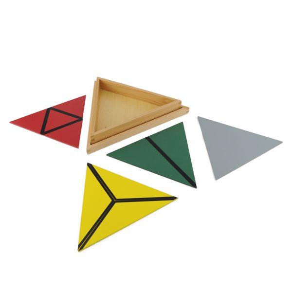 Triangles Constructeurs Colorés