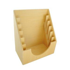 rangement des cadres d'habillages en bois