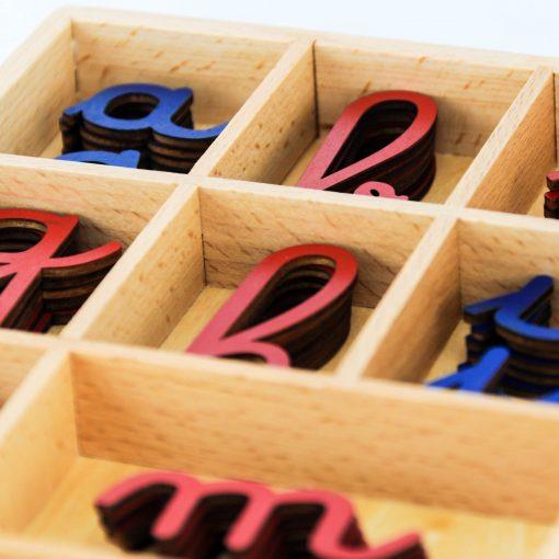 Alphabet m Montessori français