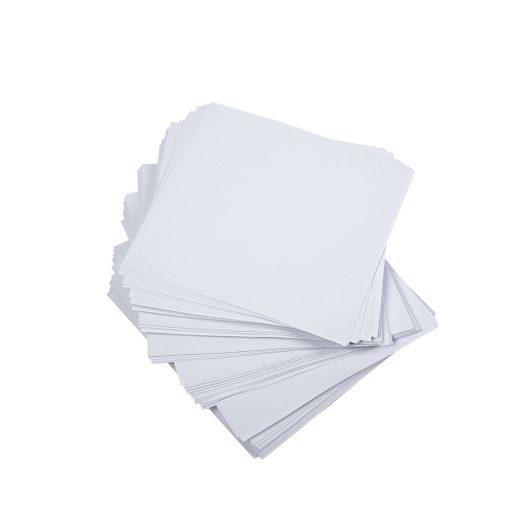 feuilles en papier, blanches