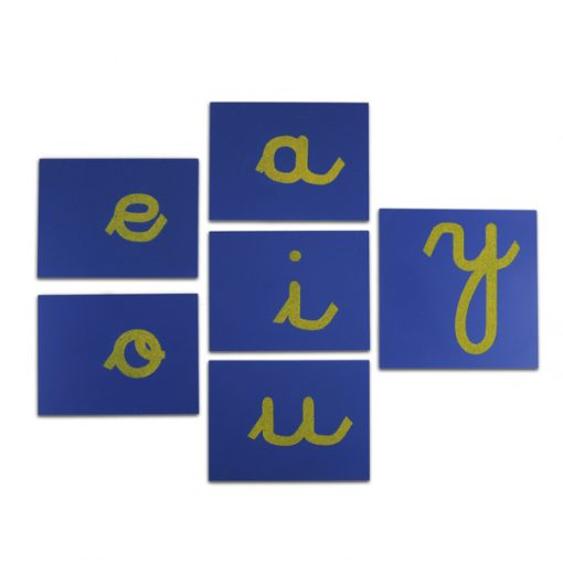 Lettres Rugueuses Cursives francaise