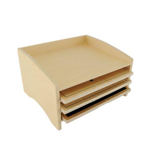 cabinet de rangement montessori