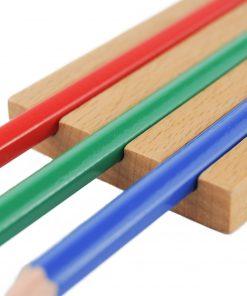 Support 3 crayons montessori