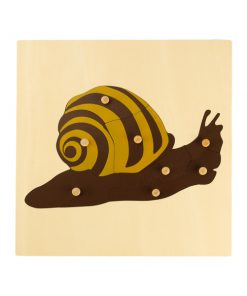 Puzzle de l'Escargot montessori