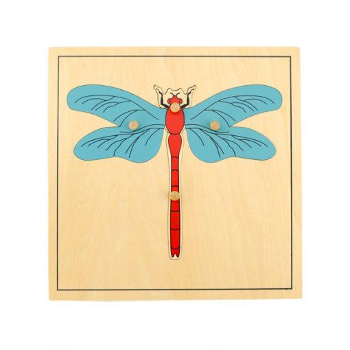 puzzle de la libellule