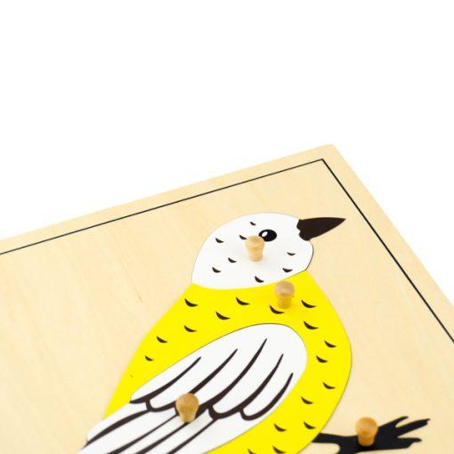 Puzzle De L'Oiseau