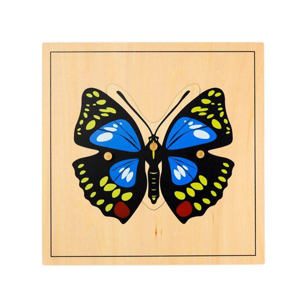 Puzzle Papillon - Jouet pour enfant assembler pièces