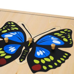 Puzzle Du Papillon montessori