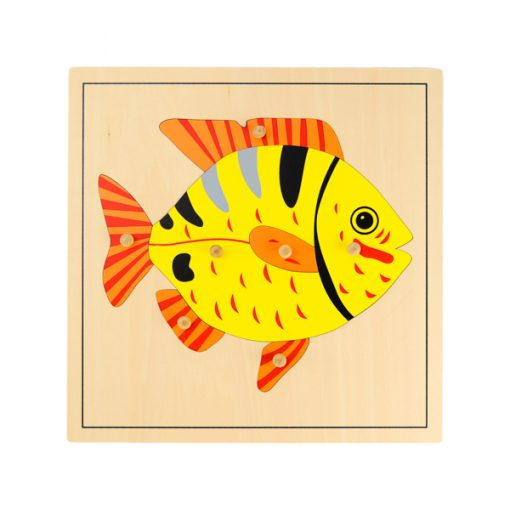 Puzzle Du Poisson montessori