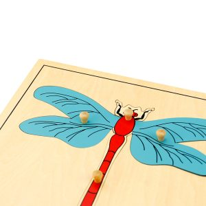 puzzle de la libellule montessori