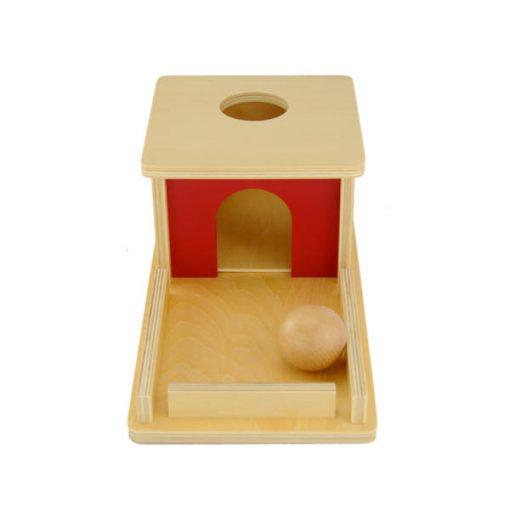 boite d'encastrement avec plateau vue de face