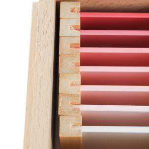 Troisième boite des couleurs