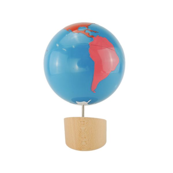 globe des continents