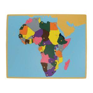 Puzzle de l'afrique