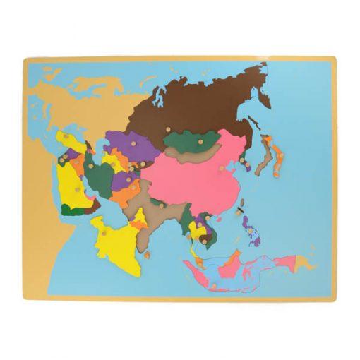 puzzle de l'asie