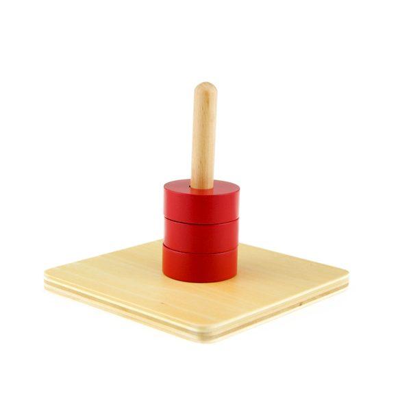 disques rouges montessori
