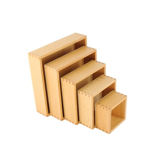 boites gigognes pour enfant de découverte