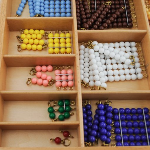 chaines et carrés de perles