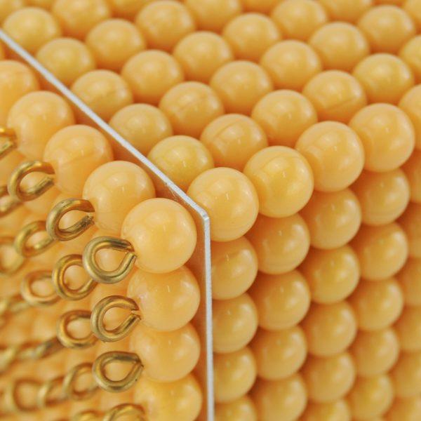 cube de 1000 perles montessori
