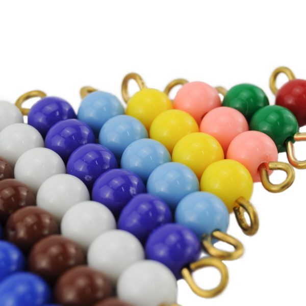 escalier de perles montessori