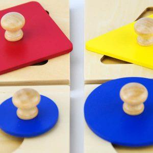puzzle géométrique jouet montessori