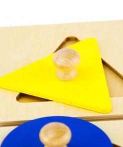 puzzle géométrique montessori