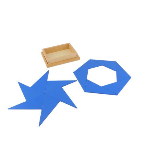triangles constructeurs montessori
