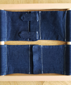 cadre habillage velcro montessori