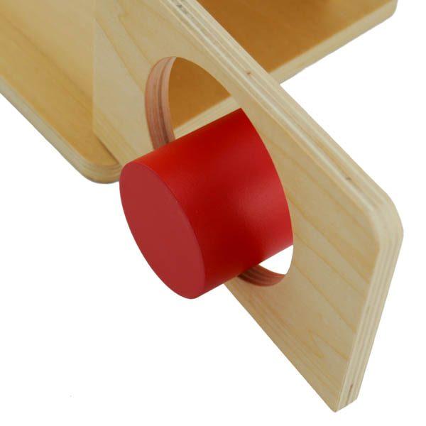 boite d'encastrement avec cylindre zoom porte