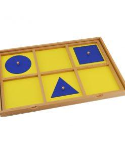plateau de présentation montessori