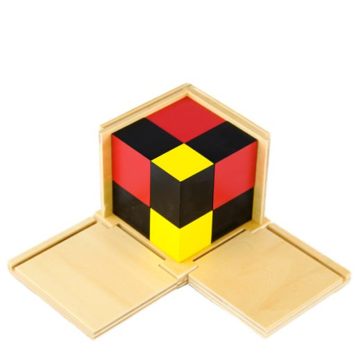 Cube Du Binôme Algébrique montessori