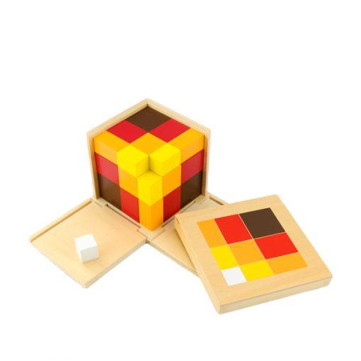 Cube Du Trinôme Arithmétique montessori