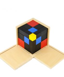 cube du trinôme montessori