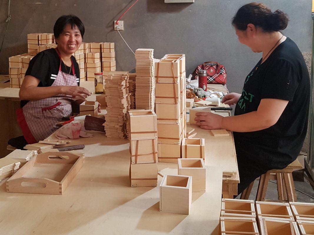 production de matériel montessori