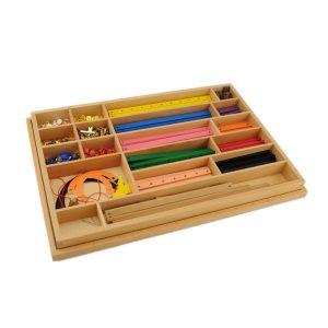 boite de géométrie montessori de qualité