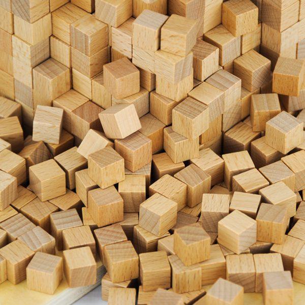 Boite des volumes de 1000 cubes Montessori