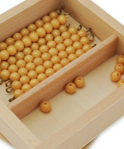 perles de la deuxième table de Seguin