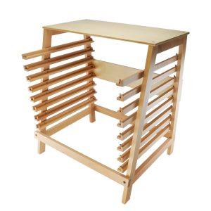 meuble de rangement puzzles montessori