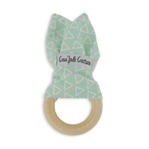 anneau de dentition vert montessori