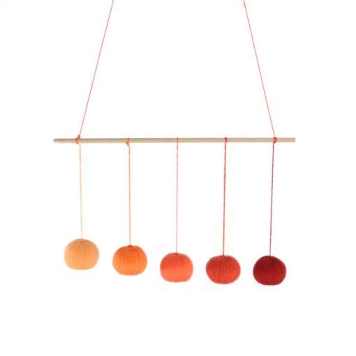 mobile de gobbi orange