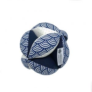 balle montessori bleue