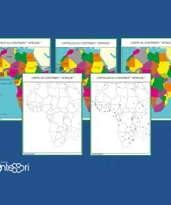 cartes de l'afrique