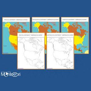 Cartes de l'Amérique Du Nord