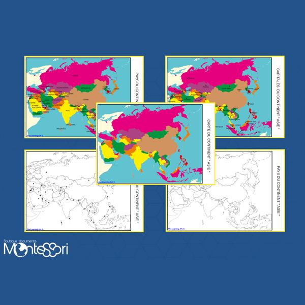 Carte Amerique Du Sud Pays Et Capitales Pdf.Cartes De L Asie